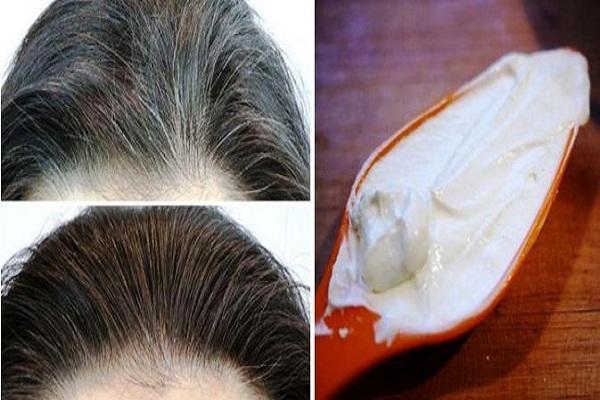 Image result for सफ़ेद बालो को काला,