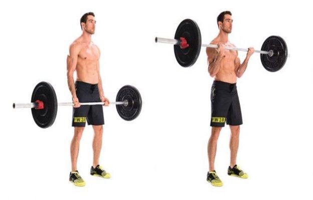 बारबेल कर्ल एक्सरसाइज़ बाइसेप्स का साइज़ बढ़ाएगा - Biceps banane ka tarika barbell curl exercise in hindi